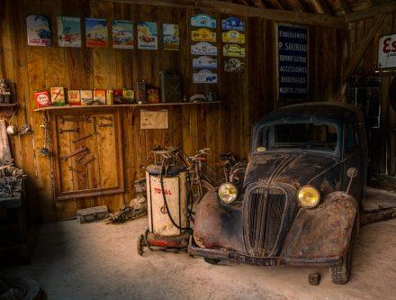 Dépanneuse, garage