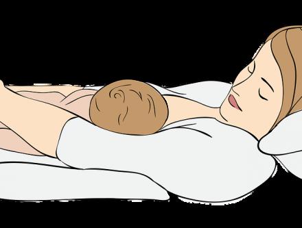 Le coussin d'allaitement
